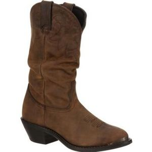 Durango womens leather western cowgirl boots 8M